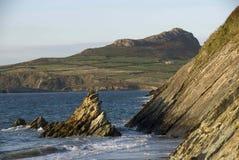 Litoral ocidental de Gales Imagem de Stock