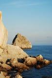 Litoral rochoso Imagem de Stock