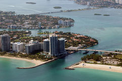 Litoral sul de Florida imagens de stock royalty free