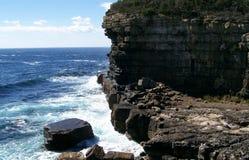 Litoral tasmaniano Foto de Stock Royalty Free