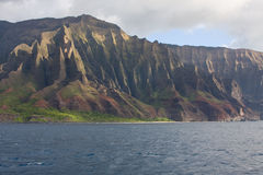Litorale 1 del Na Pali del Kauai Immagine Stock