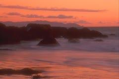 Litorale 25 della California Fotografie Stock