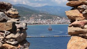 Litorale, Alanya, Turchia archivi video