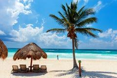 Litorale caraibico Fotografie Stock