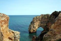 Litorale del Algarve Fotografie Stock Libere da Diritti