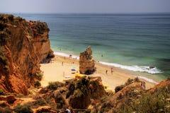 Litorale del Algarve, Portogallo Fotografia Stock Libera da Diritti