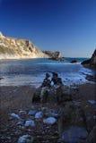 Litorale del Dorset Fotografia Stock