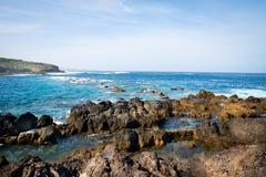 Litorale del giorno di Tenerife Fotografia Stock Libera da Diritti