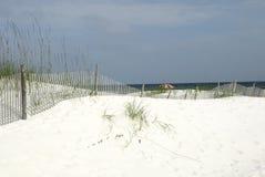 Litorale del golfo dell'Alabama Fotografia Stock