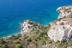 Litorale del Mar Egeo Fotografia Stock Libera da Diritti