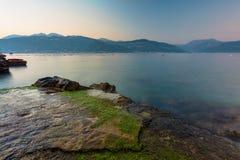 Litorale del Montenegro Fotografie Stock Libere da Diritti