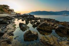 Litorale del Montenegro Fotografia Stock