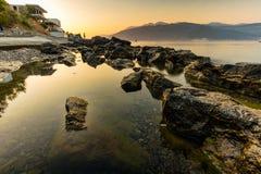Litorale del Montenegro Fotografia Stock Libera da Diritti