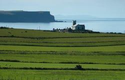 Litorale dell'Antrim, Irlanda fotografia stock