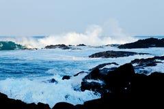 Litorale dell'Hawai Fotografie Stock Libere da Diritti