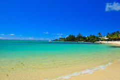 Litorale dell'Isola Maurizio Immagine Stock Libera da Diritti