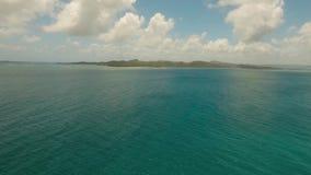 Litorale dell'isola tropicale archivi video