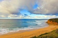 Litorale dell'oceano Fotografia Stock