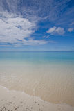 Litorale dell'oceano di Calmness immagine stock libera da diritti