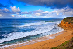 Litorale dell'oceano, grande strada dell'oceano Fotografie Stock Libere da Diritti