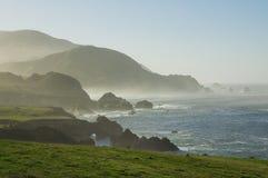 Litorale della California fotografie stock