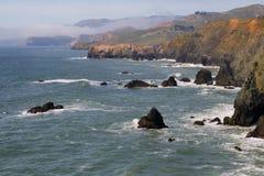 Litorale della contea di Marin fotografia stock