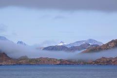 Litorale della Groenlandia Fotografie Stock Libere da Diritti