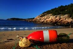 Litorale della Maine Fotografie Stock