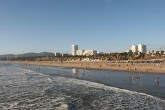 Litorale della Santa Monica Fotografia Stock Libera da Diritti