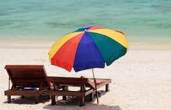 Litorale della spiaggia della Tailandia di Andaman Immagine Stock
