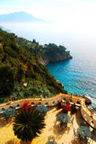 Litorale di Amalfi fotografia stock