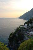 Litorale di Amalfi Fotografia Stock Libera da Diritti