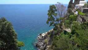 Litorale di Amalfi, Italia video d archivio