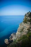 Litorale di Amalfi, Italia Fotografia Stock