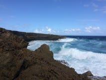 Litorale di Aruba Immagine Stock