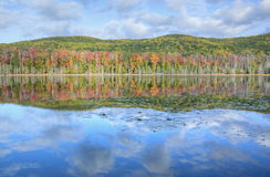 Litorale di autunno Fotografie Stock Libere da Diritti