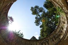 Litorale di Cimbrone Amalfi della villa di Ravello Fotografia Stock