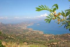 Litorale di Crete del Nord Fotografie Stock