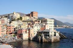 Litorale di Genova Immagine Stock
