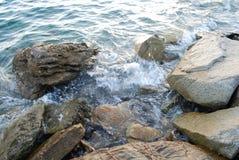 Litorale di mare Immagini Stock