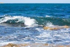 Litorale di mare Immagini Stock Libere da Diritti