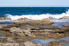 Litorale di mare Fotografia Stock