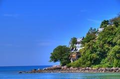 Litorale di mare di Andaman nell'isola di Puket Fotografie Stock