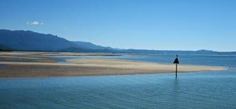 Litorale di marea del Queensland Fotografie Stock Libere da Diritti