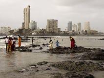 Litorale di Mumbai Fotografia Stock