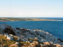 Litorale di Otranto Fotografia Stock