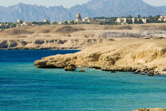 Litorale di Sharm El Sheikh immagine stock