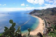 Litorale di Tenerife Fotografie Stock