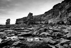 Litorale giurassico Inghilterra Fotografia Stock