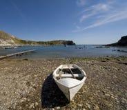 Litorale Inghilterra del Dorset della baia di Lulworth Immagini Stock